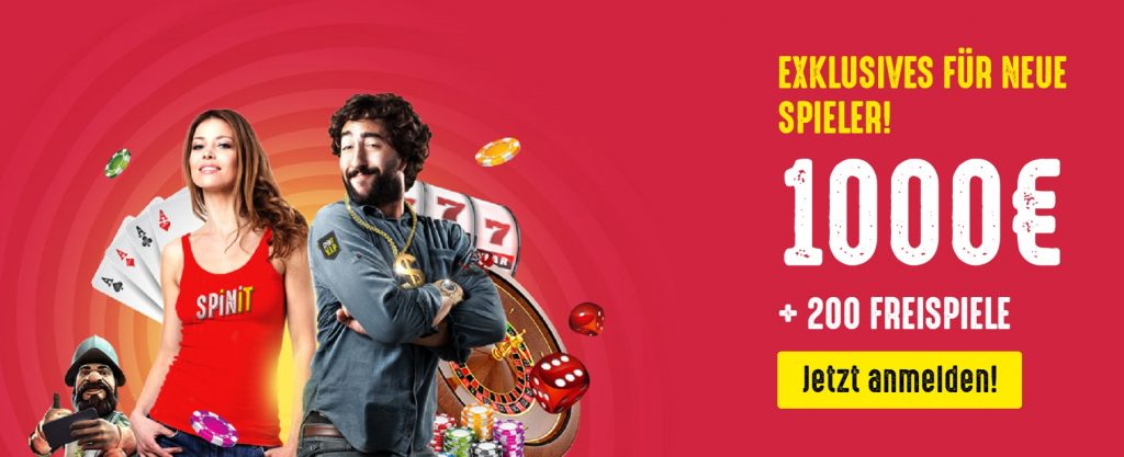 Spinit Casino Bonus 2019