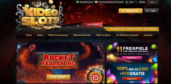 Videoslots Casino Vorschau